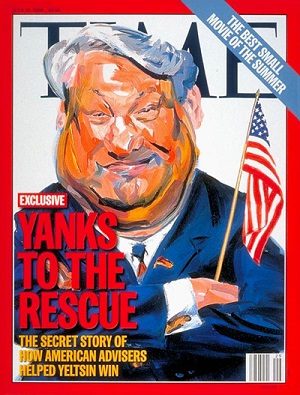 US intervened to get Yeltsin elected
